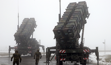 'Patriot' surface-to-air missiles for use in Turkey