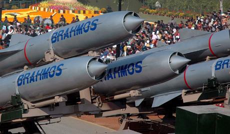 India's Brahmos missiles