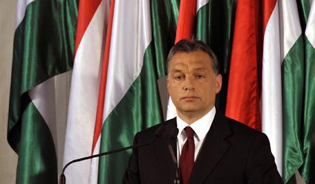Viktor Orban's presser