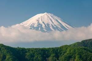 Mount Fuji In Early Morning