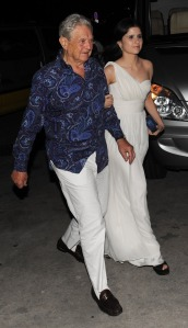 EXCLUSIVE: Billionaire George Soros with new 26-year-old girlfriend Adriana in St Barts