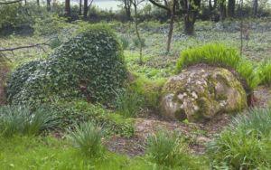 Дори скулптурата от пръст и трева също спи...