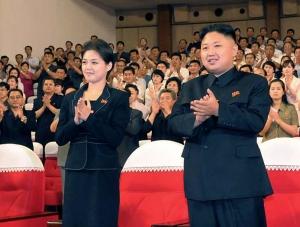 Kim Jong Un Ri Sol Ju