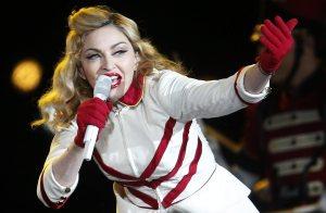 Madonna concert in Santiago