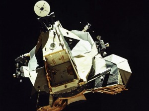 Лунният модул.