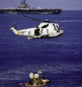 На 19 декември 1972 г. астронавтите се завръщат на Земята и са благополучно поети от въртолет на ВВС на САЩ в Тихия океан.