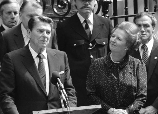 Britian Thatcher Reagan