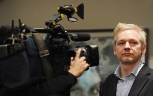 WikiLeaks founder Julian Assange attends