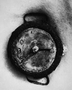 TIME STOPPED BY ATOM BOMB