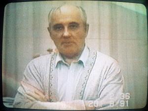 Gorbachev in captivity