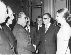 Pahlavi_Mohammad_Reza_Shah_farah_Diba_Leonid_Brezhnev_Moscow_1970