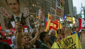 New Yorkers protest Obama war on Syria