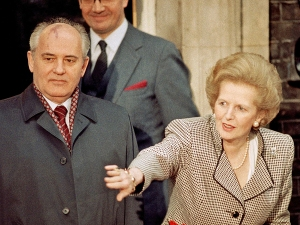 Margaret Thatcher, Mikhail Gorbachev