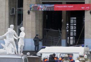 В результате взрыва на железнодорожном вокзале в Волгограде погибли люди