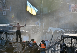 UKRAINE-EU-RUSSIA-UNREST-POLITICS-POLICE