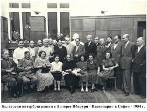 55 Sreshta s Dolores Ibaruri v Sofia - 1954