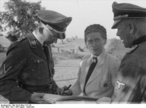 Heinrich Himmler mit Gertrud Scholtz-Klink