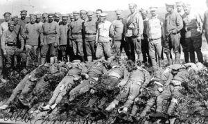 Убити от чехите болшевики във Владивосток