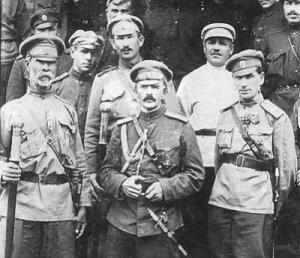 Руските офицери били разделени на две