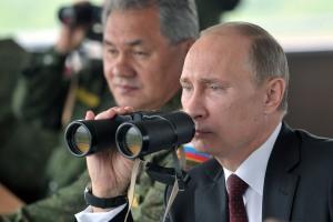 Vladimir Putin, Sergey Shoigu