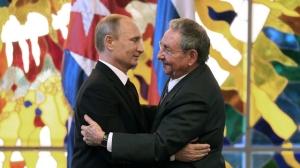 CUBA-RUSSIA-CASTRO-PUTIN