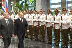 Путин в Куба 92390-2