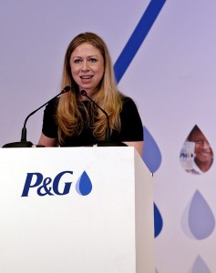 Chelsea Clinton in Yangon