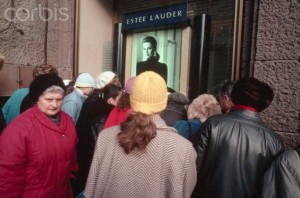 Estee Lauder Store Opens in Moscow