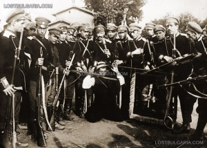Заловен член на БЗНС веднага след държавния преврат през 1923 г.