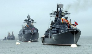 Тихоокеански флот Русия ca