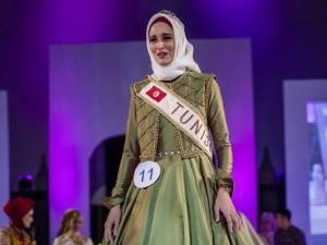 Miss World Muslimah 2014.