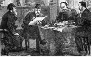 Игнатиев Ignatiev_signing_treaty