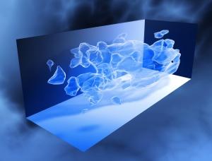 COSMOS_3D_dark_matter_map