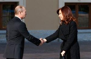 Кристина Киршнер Путин 94-c