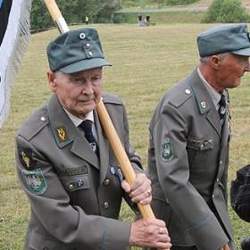 Съвременна среща на ветерани от СС естонски легион