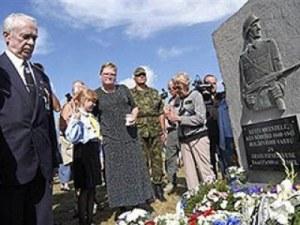Среща в наши дни на ветерани от СС естонска дивизия