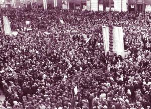1946_Adunare-electorala-convocata-de-comunisti-in-Bucuresti