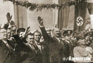 Богдан Филов на посещение в Италия при Мусолини 03