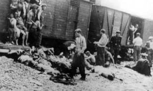 Депортиране на румънски евреи