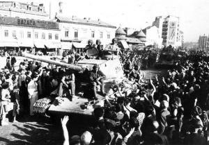 Съветската армия влиза в Румъния