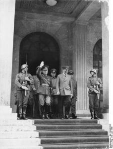 München, Staatsbesuch Jon Antonescu bei Hitler