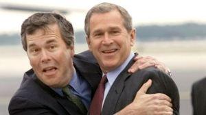 Джеб и Джордж Буш _h450