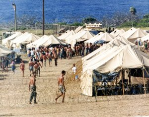 guantanamo-bay-naval-station-has-been-a-us-military-base-for-more-than-a-century-during-the-40-years-leading-to-september-11-2001-it-was-filled-with-asylum-seeking-refugees-from-throughout-the-caribbean