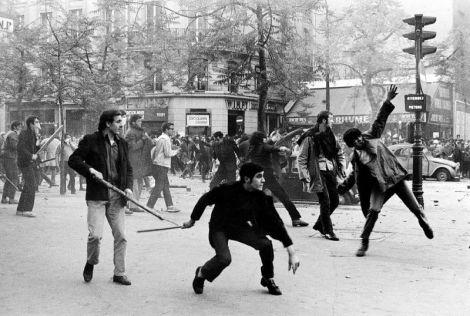 1968 година, Париж
