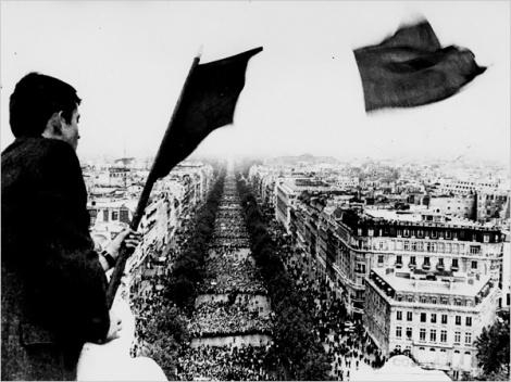 1968 година, Франция