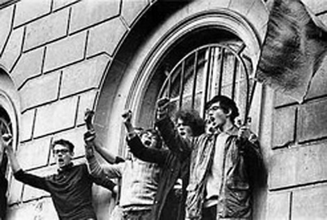 1968 година, Сорбоната, Франция
