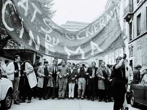 1968 година, Стачка на френската киноиндустрия
