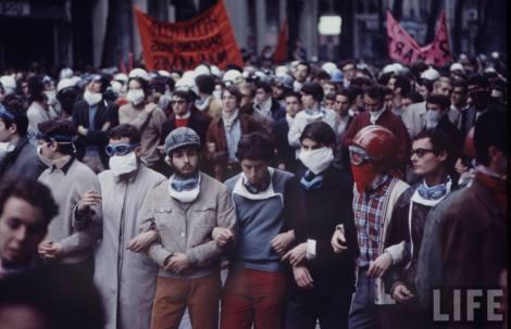 1968 година, протест във Франция