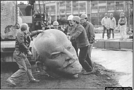 Демонатаж Ленин Берлин 92