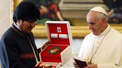 VATICAN-BOLIVIA-POPE